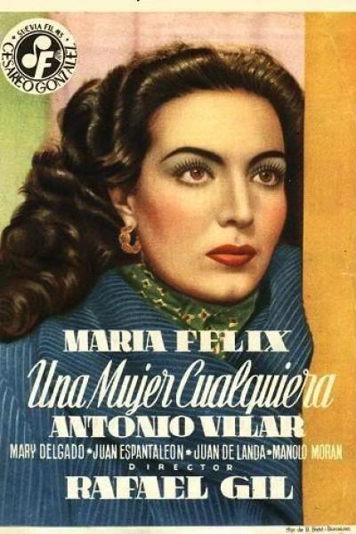 Caratula, cartel, poster o portada de Una mujer cualquiera