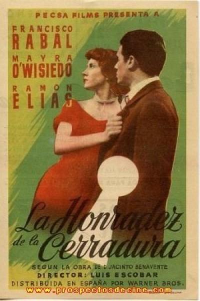 Caratula, cartel, poster o portada de La honradez de la cerradura