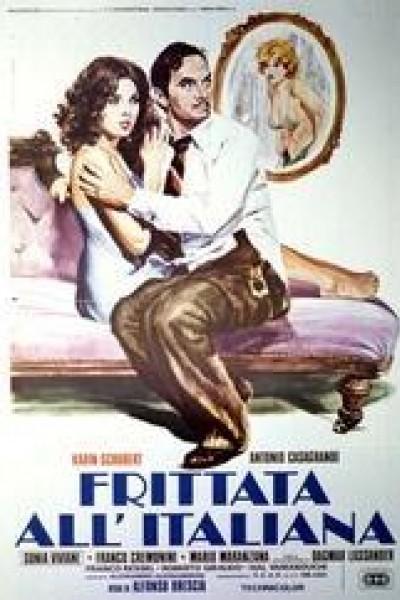 Caratula, cartel, poster o portada de Frittata all\'italiana
