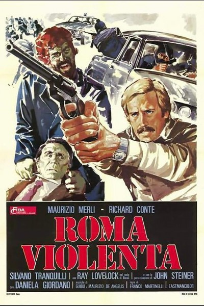 Caratula, cartel, poster o portada de Roma violenta