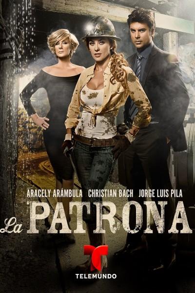 Caratula, cartel, poster o portada de La patrona