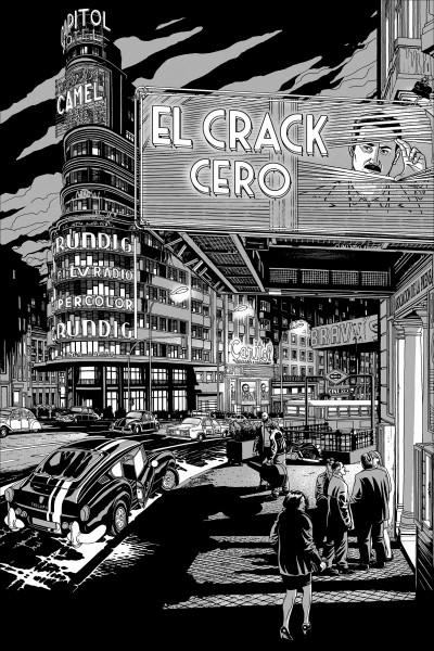 Caratula, cartel, poster o portada de El crack Cero