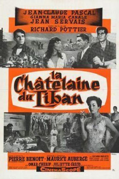 Caratula, cartel, poster o portada de La castellana del Líbano
