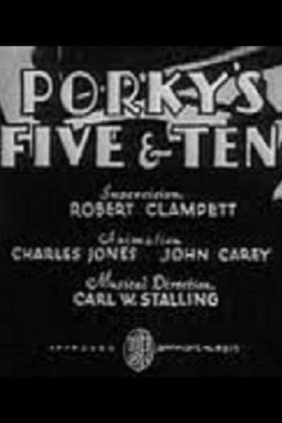 Caratula, cartel, poster o portada de Porky\'s Five & Ten