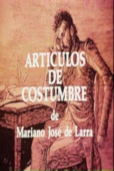 Caratula, cartel, poster o portada de Artículos de costumbre