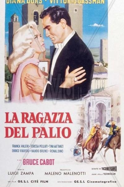 Caratula, cartel, poster o portada de Diana, la muchacha del palio
