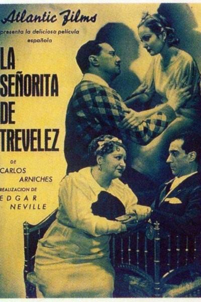 Caratula, cartel, poster o portada de La señorita de Trevélez