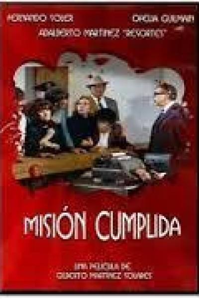 Caratula, cartel, poster o portada de Misión cumplida