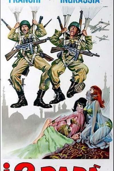 Caratula, cartel, poster o portada de The Two Parachutists