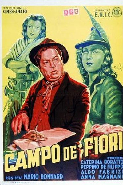 Caratula, cartel, poster o portada de Campo de\' fiori
