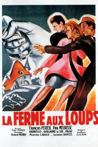 Caratula, cartel, poster o portada de La ferme aux loups