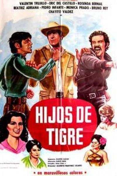 Caratula, cartel, poster o portada de Hijos de tigre
