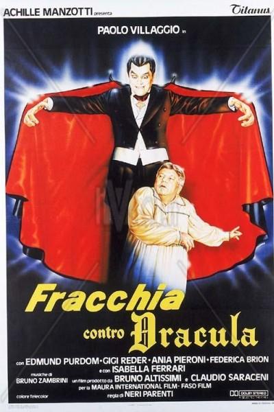 Caratula, cartel, poster o portada de Fracchia contro Dracula