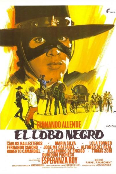 Caratula, cartel, poster o portada de El lobo negro