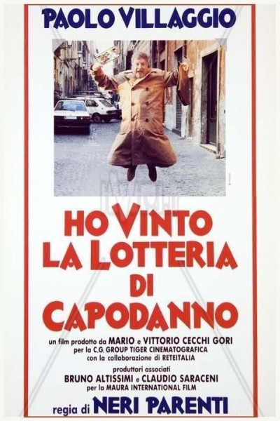 Caratula, cartel, poster o portada de Ho vinto la lotteria di Capodanno