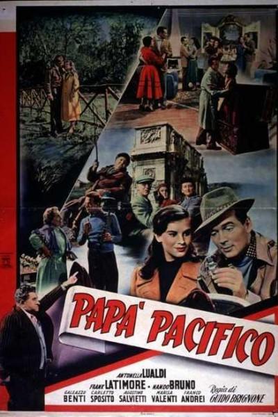 Caratula, cartel, poster o portada de Papà Pacifico