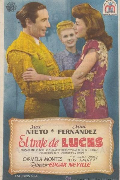 Caratula, cartel, poster o portada de El traje de luces