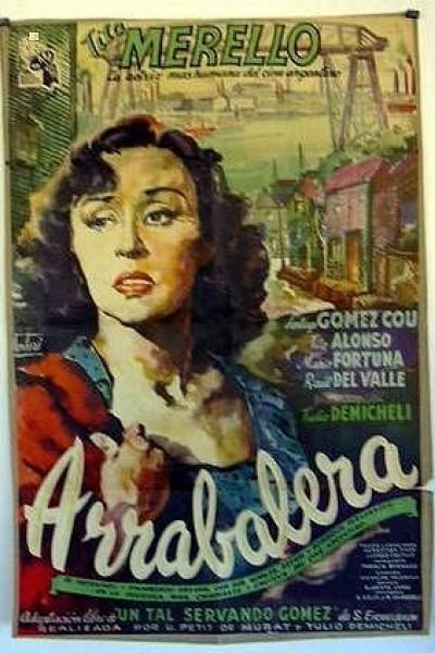 Caratula, cartel, poster o portada de Arrabalera