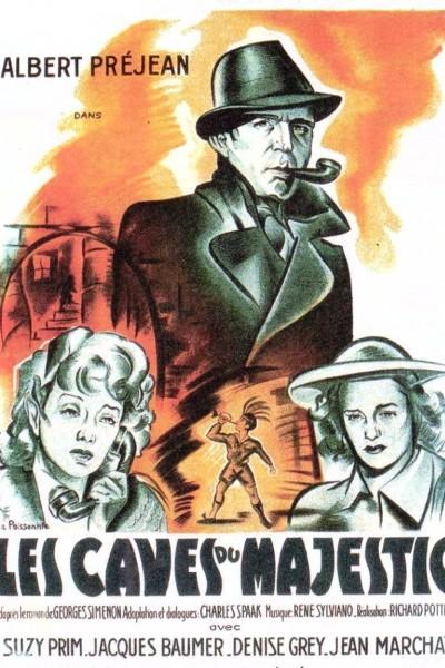 Caratula, cartel, poster o portada de Les caves du Majestic