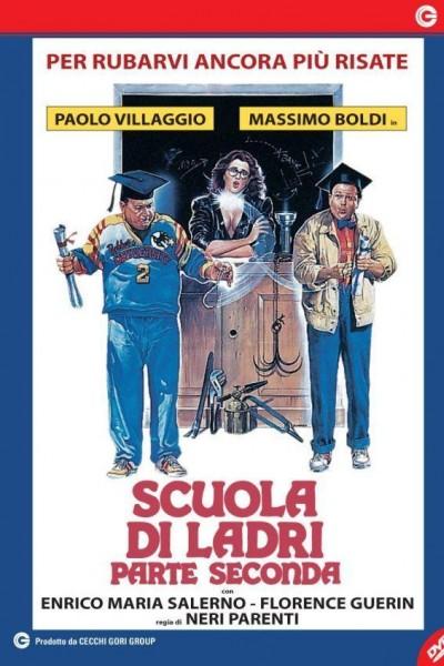 Caratula, cartel, poster o portada de Escuela de ladrones II