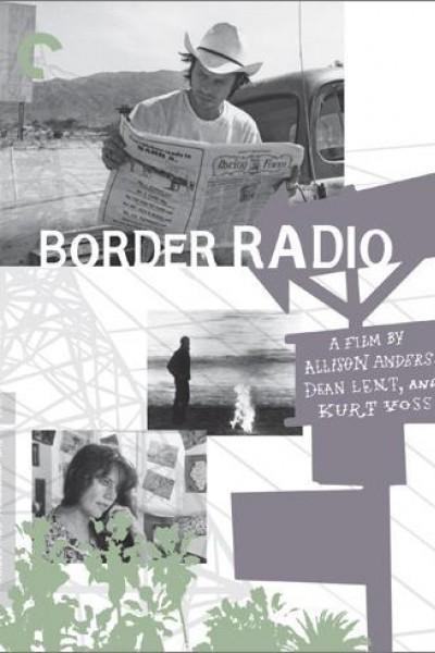 Caratula, cartel, poster o portada de Border Radio