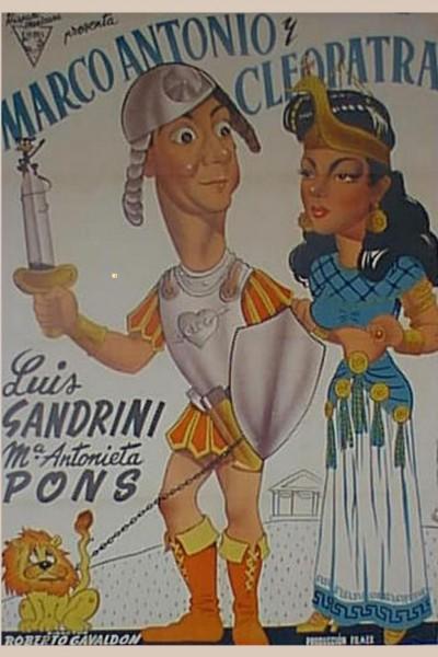 Caratula, cartel, poster o portada de La vida íntima de Marco Antonio y Cleopatra