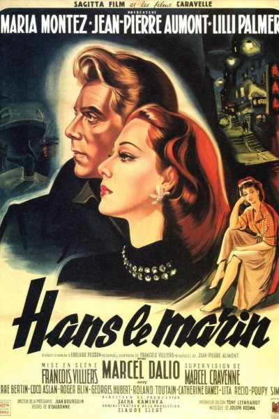 Caratula, cartel, poster o portada de Hans le marin (Hans the Sailor)