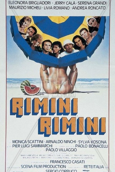 Caratula, cartel, poster o portada de Rimini Rimini
