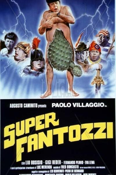 Caratula, cartel, poster o portada de Super Fantozzi