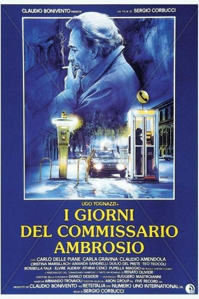 Caratula, cartel, poster o portada de Comisario Ambrosio