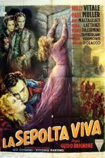 Caratula, cartel, poster o portada de La sepultada viva