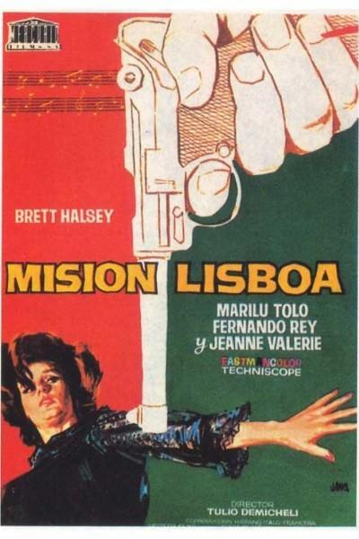Caratula, cartel, poster o portada de Misión Lisboa