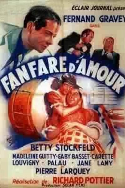 Caratula, cartel, poster o portada de Fanfare d\'amour