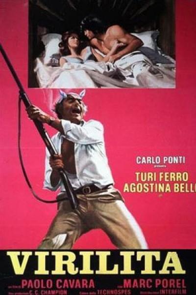 Caratula, cartel, poster o portada de Virilidad a la italiana