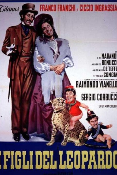 Caratula, cartel, poster o portada de I figli del leopardo