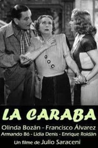 Caratula, cartel, poster o portada de La caraba