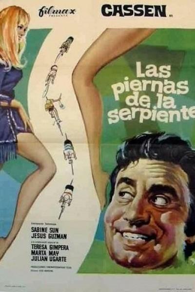 Caratula, cartel, poster o portada de Las piernas de la serpiente