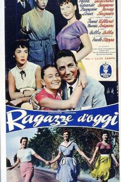 Caratula, cartel, poster o portada de Ragazze d\'oggi