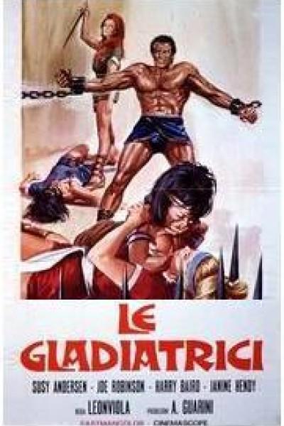 Caratula, cartel, poster o portada de Las gladiadoras