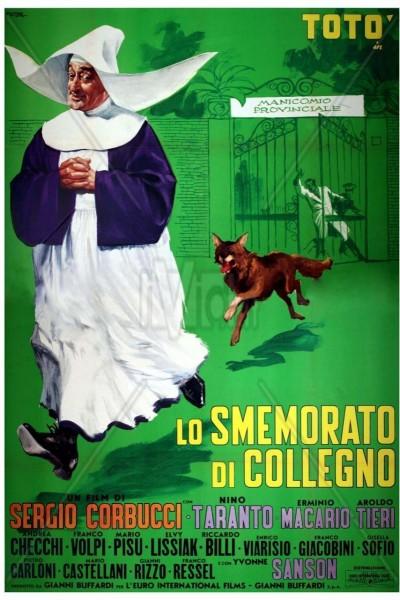 Caratula, cartel, poster o portada de Lo smemorato di Collegno