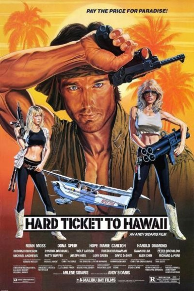 Caratula, cartel, poster o portada de Hard Ticket to Hawaii