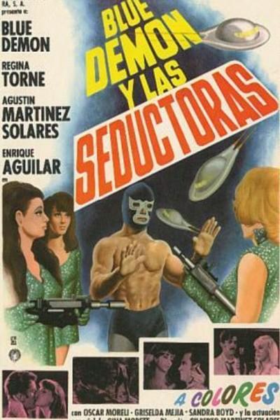 Caratula, cartel, poster o portada de Blue Demon contra las invasoras
