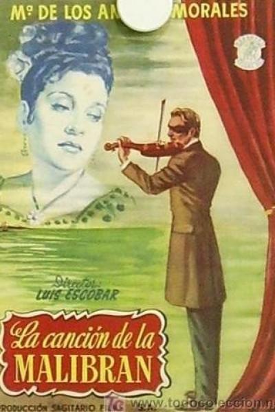 Caratula, cartel, poster o portada de La canción de La Malibrán