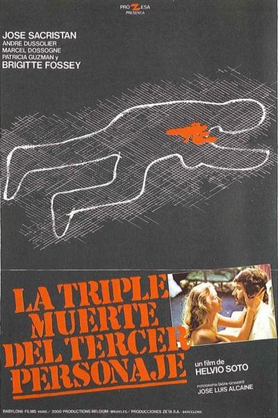 Caratula, cartel, poster o portada de La triple muerte del tercer personaje