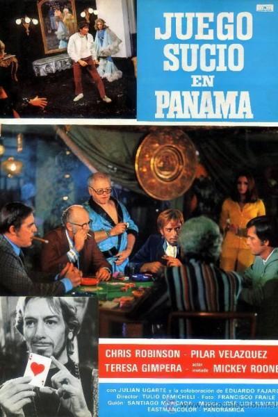 Caratula, cartel, poster o portada de Juego sucio en Panamá