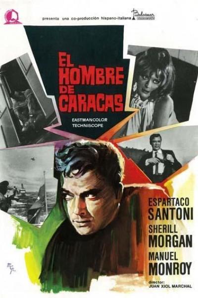 Caratula, cartel, poster o portada de El hombre de Caracas