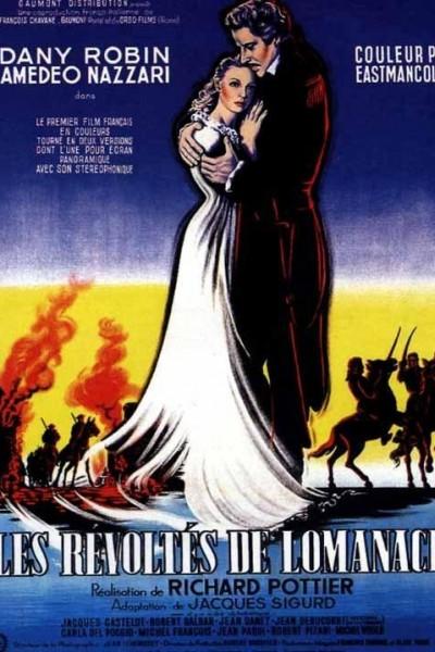 Caratula, cartel, poster o portada de Los sublevados de Lomanach
