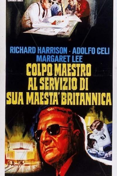 Caratula, cartel, poster o portada de Gran golpe al servicio de su majestad británica