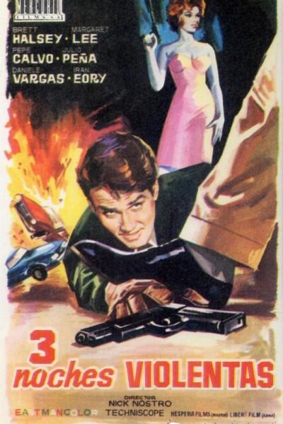 Caratula, cartel, poster o portada de Tres noches violentas