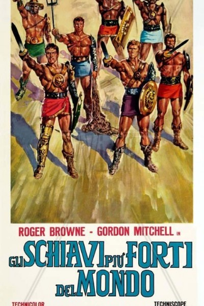 Caratula, cartel, poster o portada de Los esclavos más fuertes del mundo